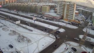 Смертельное ДТП в Сургуте на Мира попало на видео