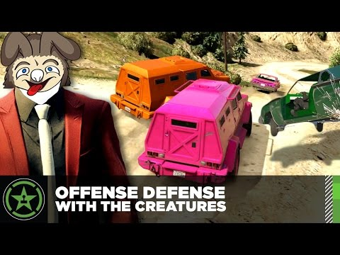 Let's Play – GTA V – Offense Defense with The Creatures