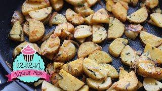 Tavada Az Yağlı Patates Kızartma - Sarımsak ve Baharatla Lezzet Garantili   Ayşenur Altan Tarifleri