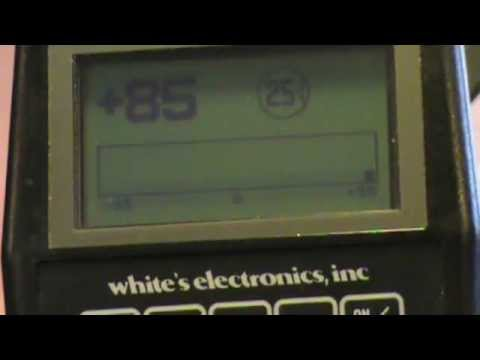 treasure hunting how to with whites xlt wmv youtube