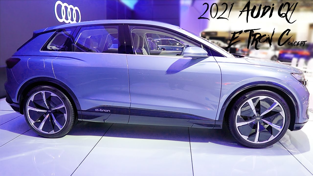 2021 audi q4 e tron concept - exterior and interior