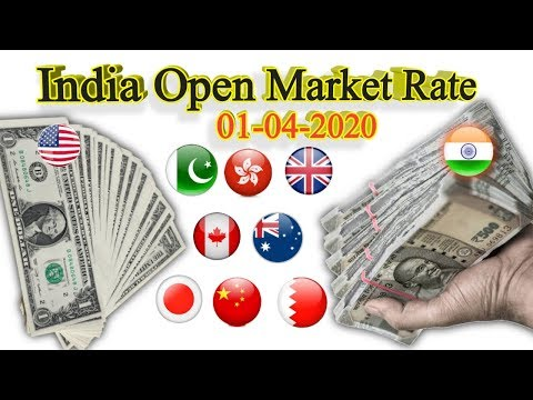 Indian forex rates open market