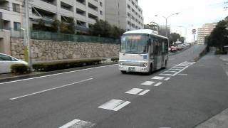 みなと観光バス 住吉台くるくるバス ポンチョ