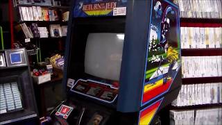 How we repaired our 1984 Atari Return of the Jedi Arcade Game!