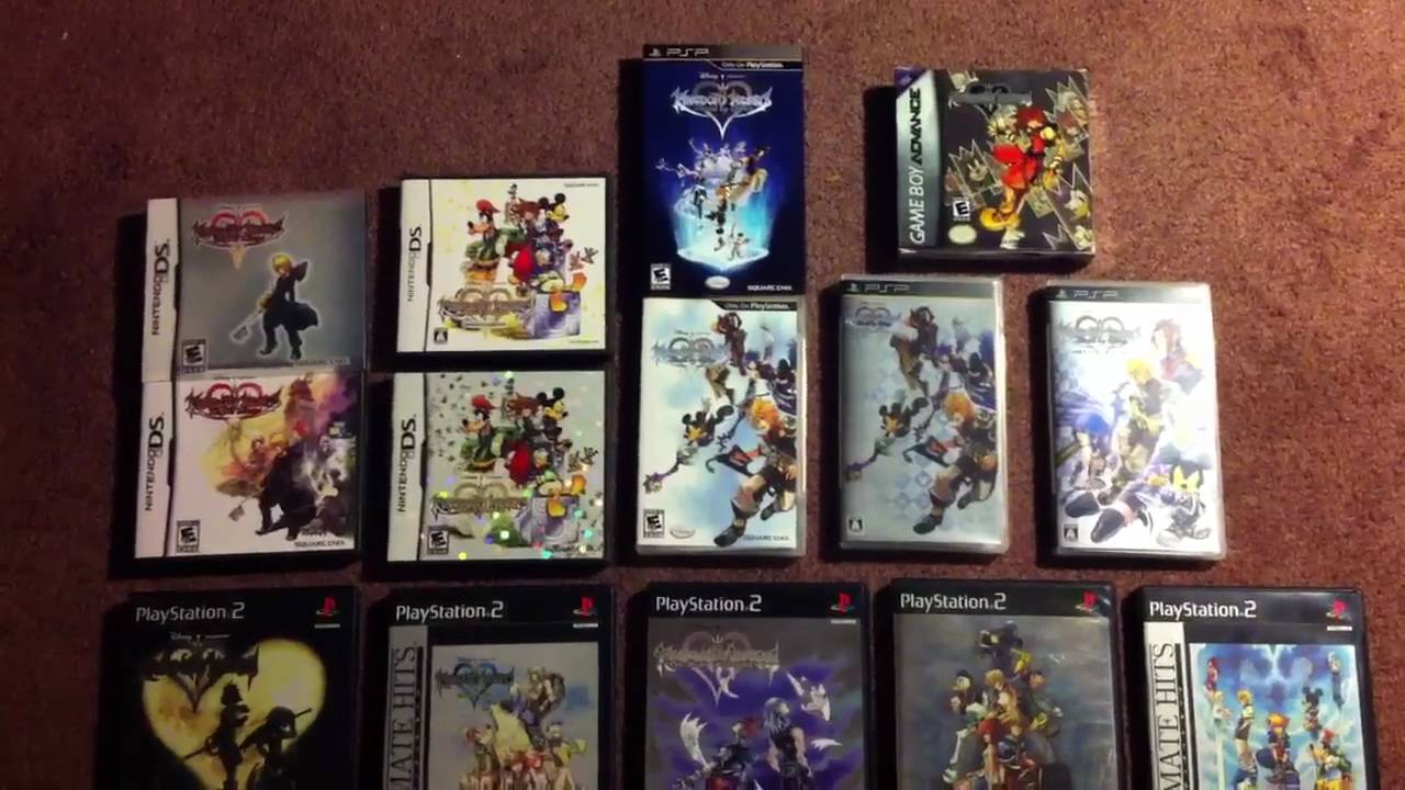 All Of My Kingdom Hearts Games Youtube