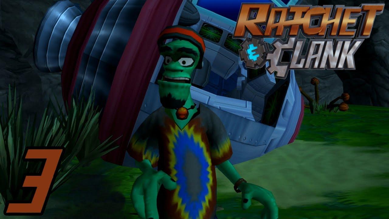 Lets Play Ratchet Clank Hd German3 Der Hoverboard Profi