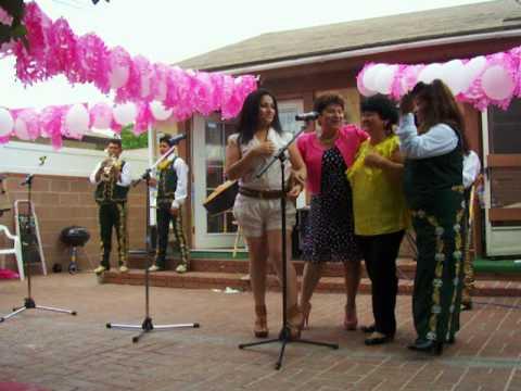 josefina espinoza cumpleanos 2009 mariachi