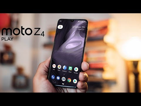 Moto Z4 Play - FIRST LOOK!