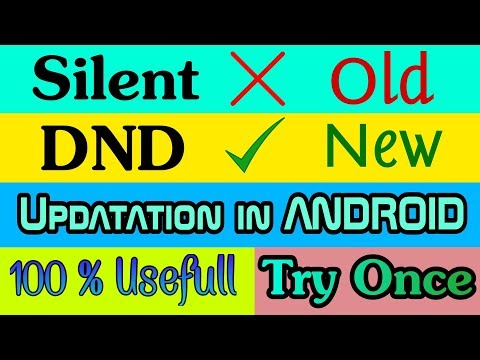 DND In Oreo Android 8.0 | Active Vibrate Silent Mode | Do Not Disturb Feature Automatic Silent