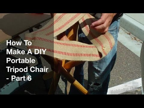 How To Make A Portable DIY Tripod C&ing Stool Part 6 & How To Make A Portable DIY Tripod Camping Stool Part 6 - YouTube islam-shia.org