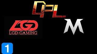 LGD vs TEAM MAX Game 1 DPL 2017 Highlights Dota 2