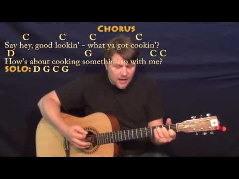 Hey Good Lookin' (Hank Williams) Guitar Cover Lesson with Chords/Lyrics