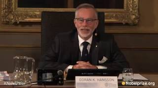 The Royal Swedish Academy of Sciences every year awards the Nobel P...