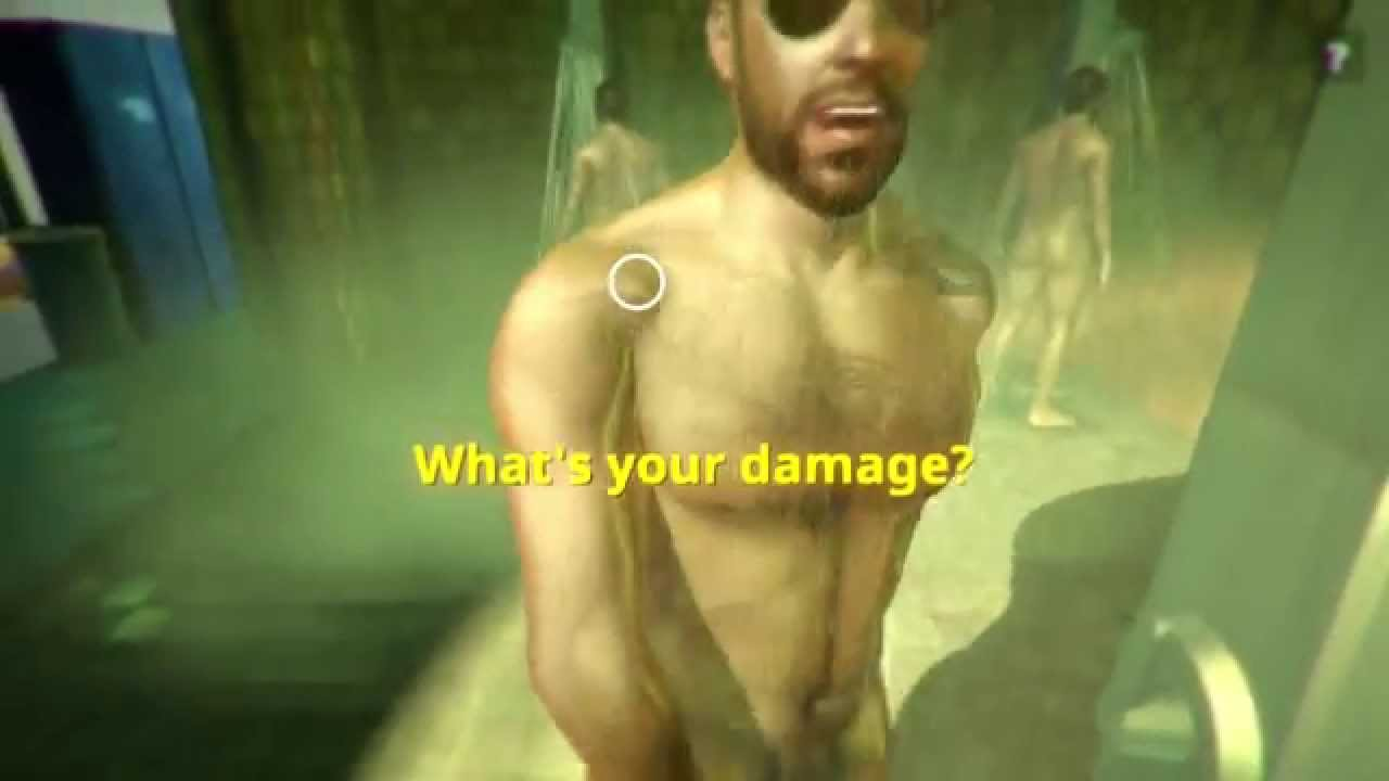 Think, that Naked male video game characters