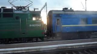 вл82м-042 otabek sultonov ta'mirlash uchun masofa vagonov, lokomotiv o'zgarishi вл82м 042 bo'yicha