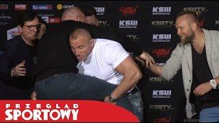 KSW 39. Pudzian i Tyberiusz oko w oko! 2017 Video