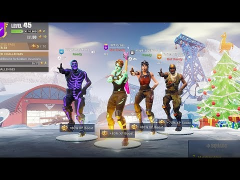 the most TRYHARD Fortnite squad.. 😱( Aerial Assault Trooper, Renegade Raider, Ghoul Trooper)