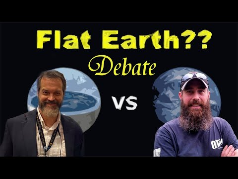 Rob Skiba and Zachary Bauer Debate Flat Earth