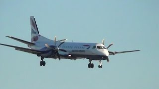 London City Airport Plane Spotting from Runway End