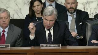 Sen. Whitehouse Questions Sally Yates on Russian Interference in 2016 Election