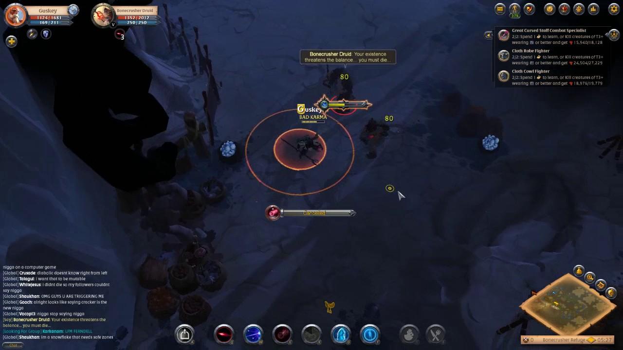Cursed Staff Albion Online Build