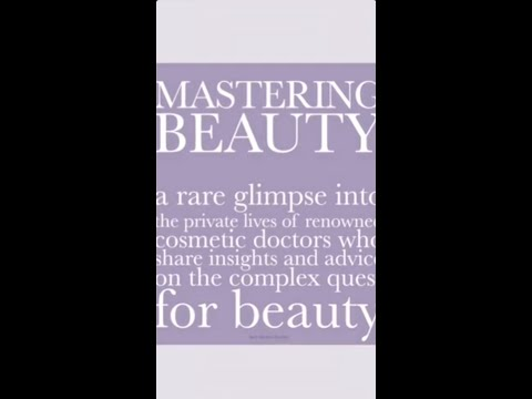Mastering Beauty - Dr. Petropoulos reviews her morning routine!