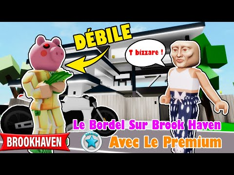 ON FOUT LE BORDEL AVEC LE PREMIUM SUR BROOKHAVEN! ROBLOX BROOKHAVEN (CONCOURS PREMIUM POUR VOUS)