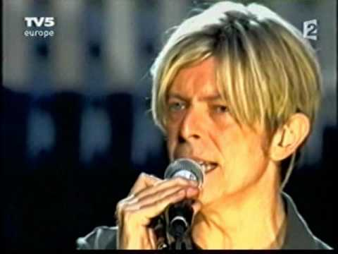 David Bowie -Trafic Musique  - TV5 europe 2 (part one)