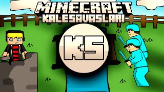 Minecraft: NDNG Kale Savaşları - Enes Furki Selimcan Baturay 4vs4 - Bölüm 8
