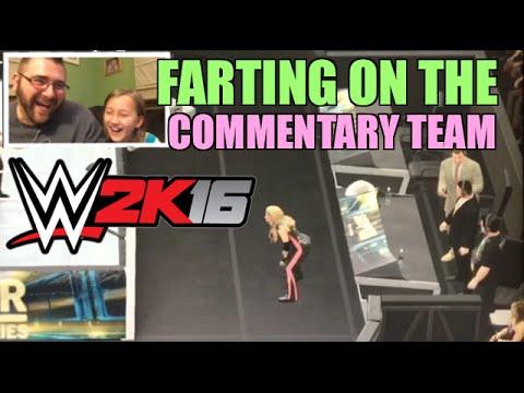WWE 2K16 Funny Farting Trish Stratus Divas Wrestling Match Vs Lita ps4 gameplay! thumbnail