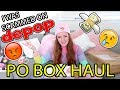 I GOT SCAMMED ON DEPOP + PO Box Haul & Unboxing! Pretty Pastel Parcels #2