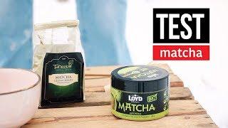 Test herbaty Matcha z Lidla (japońskiej) i Auchan (chińskiej). Czajnikowy.pl