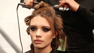 See what it's really like to be the lead makeup artist during New Y...
