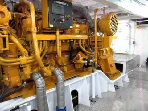 M V Steve Golding Engine Room Tour Youtube