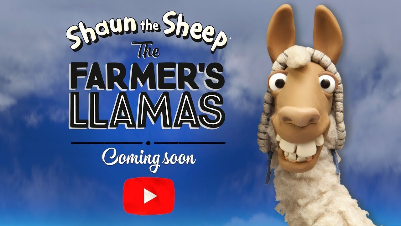 Coming Soon! | The Farmers Llamas | Shaun the Sheep | Trailer