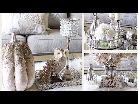 FALL GLAM Table Styles | Coffee Table Styling Ideas
