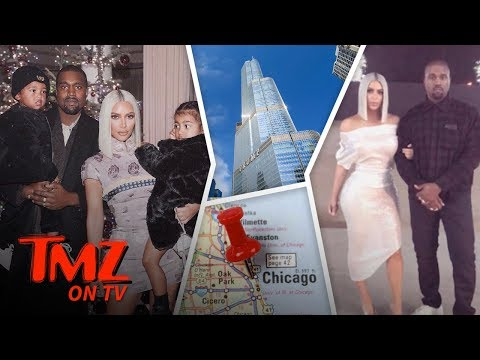 Kim And Kanye Take Over Chicago! | TMZ TV