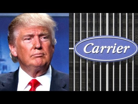 Trump Convinces Carrier To Keep 1,000 Jobs In America