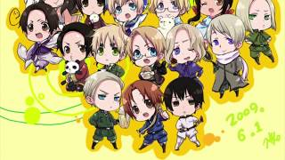 My Top 10 Favourite Hetalia Designs