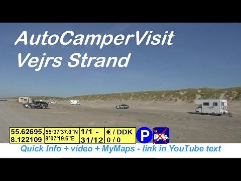 AutoCamperVisit Vejers Strand 🚐🌏-431-