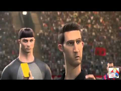 Top 4 The Best Funny Ronaldo and Rooney Nike Football Cartoon Commercials