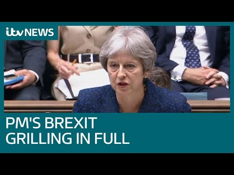 Theresa May addresses the Commons after Cabinet resignations | ITV News