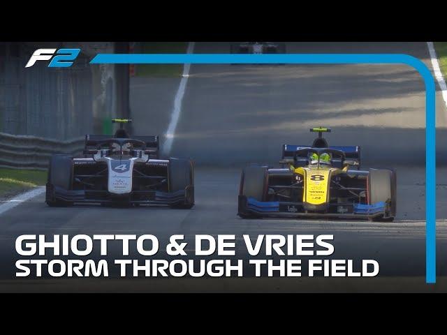 Amazing Monza Fightbacks In Formula 2 | 2019 Italian Grand Prix
