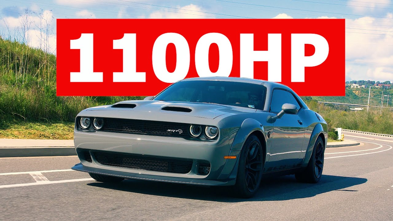 CRAZY 1100HP Hellcat REDEYE Build! SPEED SOCIETY