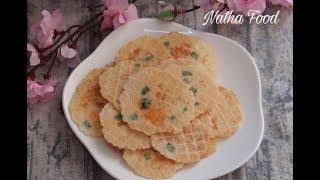 Bánh tráng tôm giòn rụm thơm phức, ăn bao nghiền || Natha Food