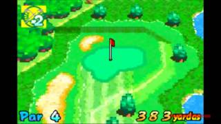 Game Boy Advance - Mario Golf (Advance Tour) Gameplay