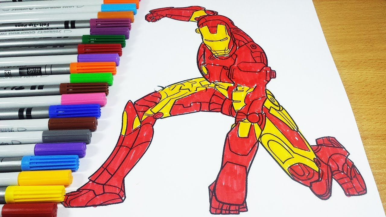 coloring pages iron man coloring pages iron man avengers