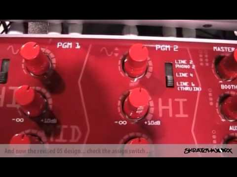 NAMM 2010: Vestax PMC-05ProIV and VFX-1