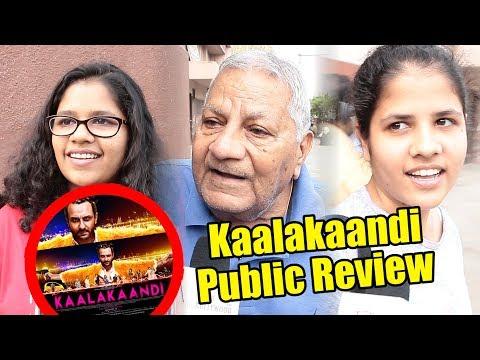 Kaalakaandi Movie Public Review   Saif Ali Khan   Vijay Raaz   Isha Talwar