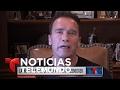 Donald Trump se burla de Arnold Schwarzenegger | Noticiero | Noticias Telemundo
